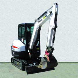 Kompaktbagger Bobcat E32 mieten
