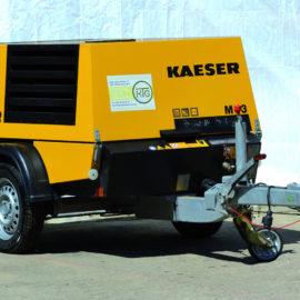 Schrauenkompressor von KAESER mieten