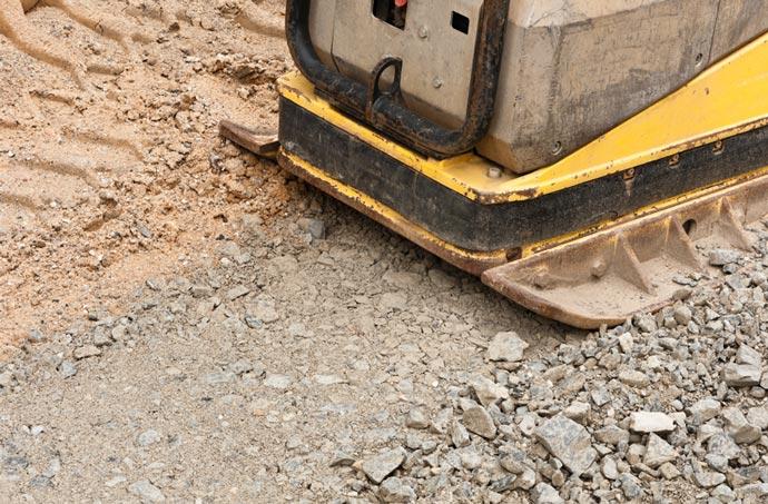Bei KTG mieten Sie kostengünstig Rüttelplatten und andere Betonverdichter und Bodenverdichter