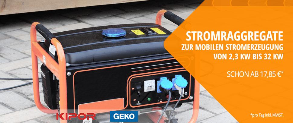 Stromerzeuger mieten in Berlin