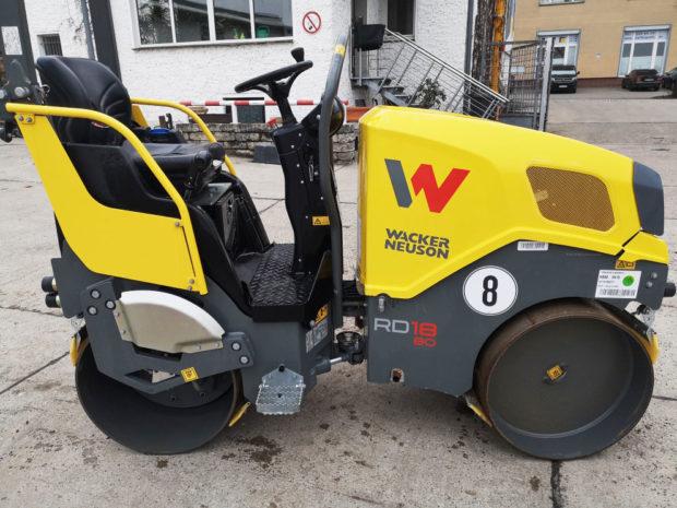 Vibrationswalze Straßenwalze von Wacker-Neuson mieten